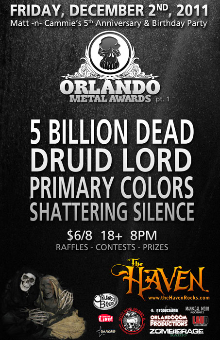 image link to the orlando metal awards part one at the haven lounge december 2nd