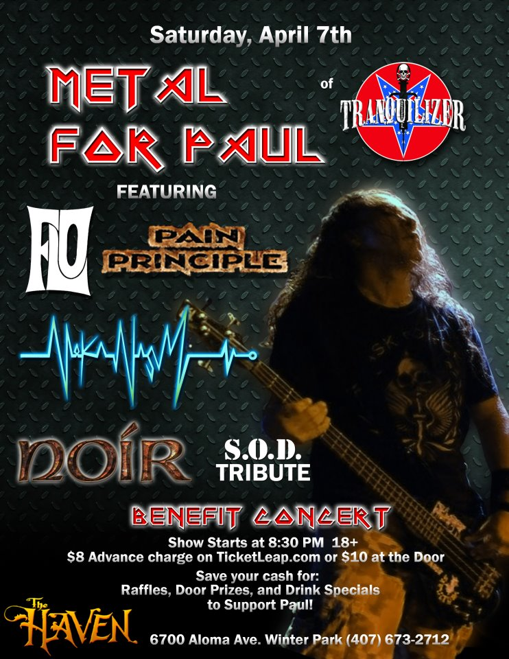 link to metal for paul kyle benefit at the haven lounge