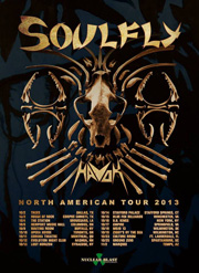 soulfly havok north american tour 2013