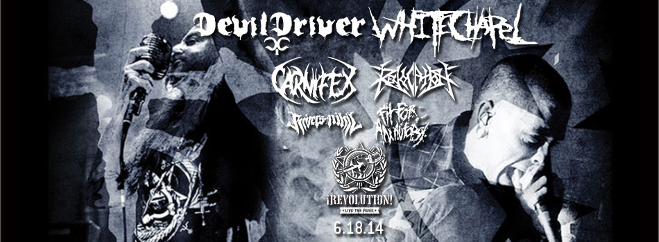 link to devildriver at revolution live fort lauderdale